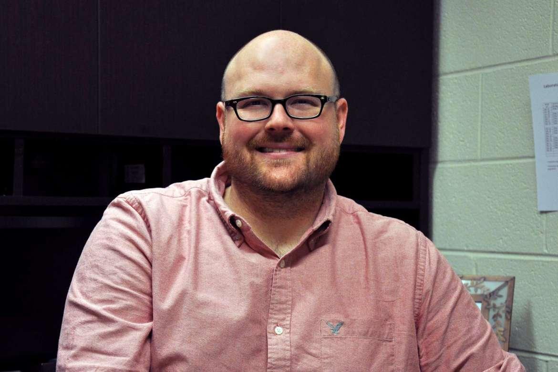 Dr. Jonathan Gilkerson, assistant biology professor.
