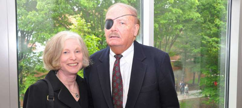 Dr. Sylvia Manning and Thomas Blondell