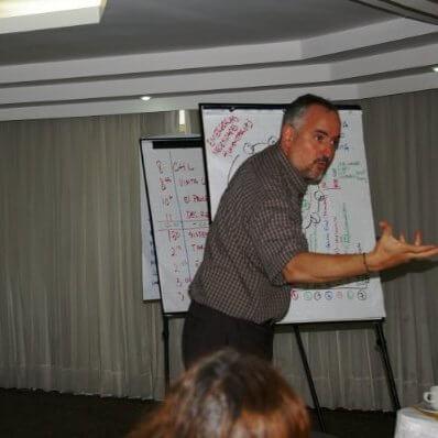 Carlos Mejia, Oxfam America humanitarian change goal manager