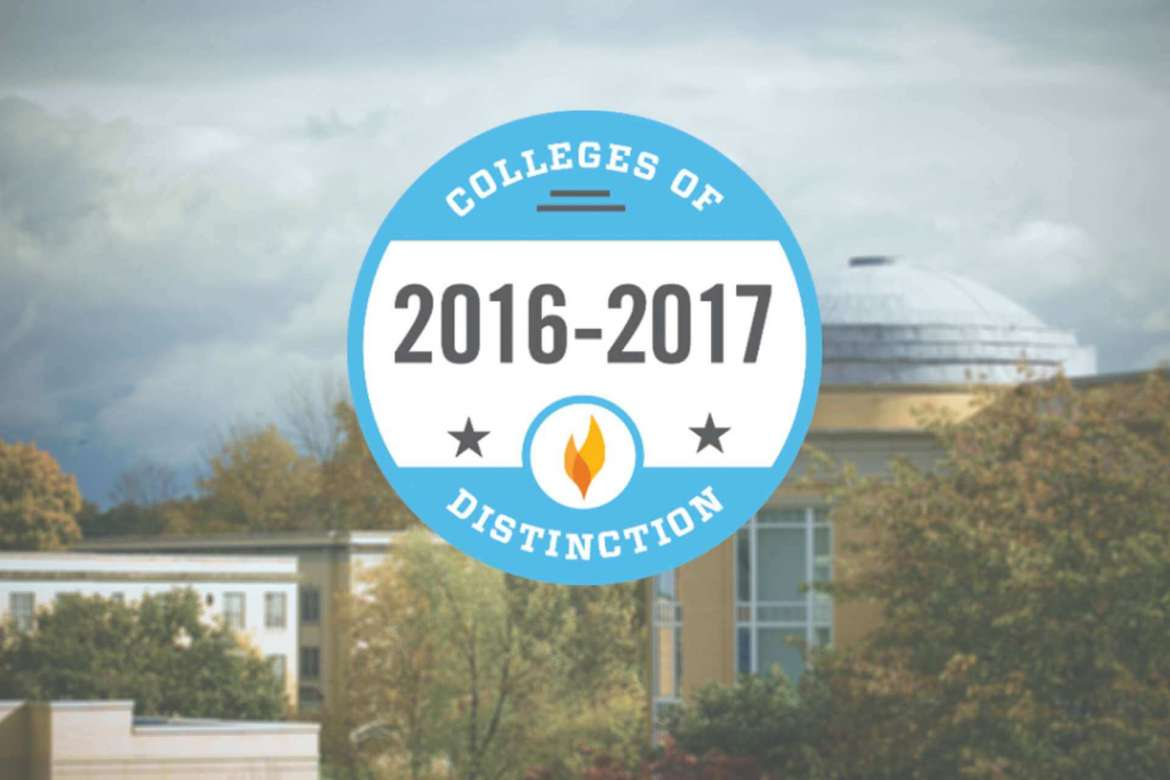Shepherd named to Colleges of Distinction list.