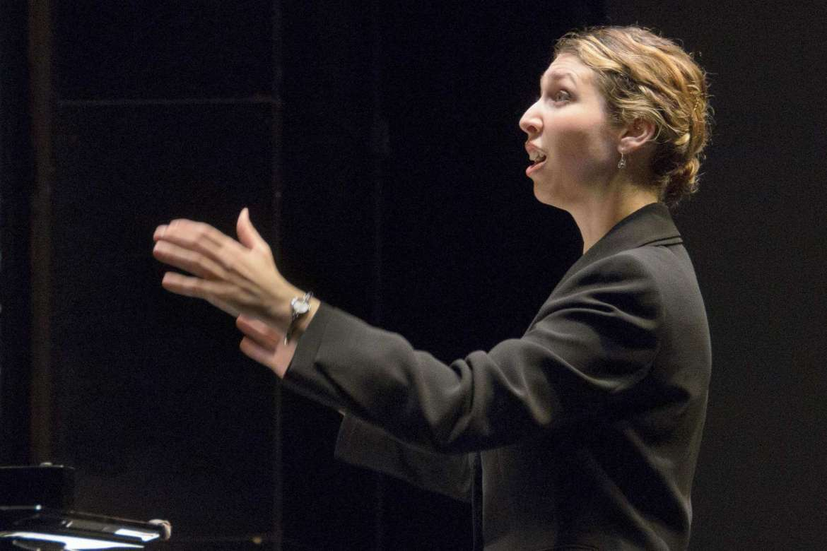 Dr. Rachel Carlson, visiting assistant professor of music
