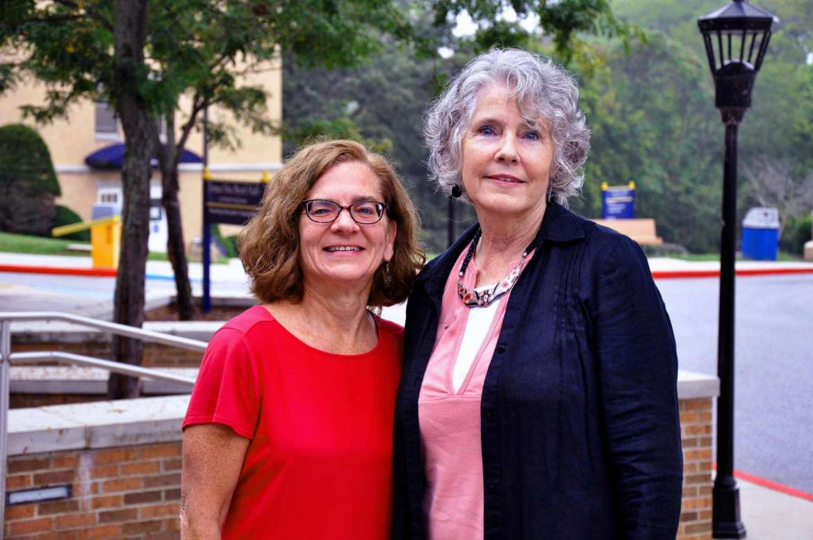 Dr. Barbara Spencer (left), assistant professor of nursing education, and  Dr. Geri Crawley-Woods, chair of the Department of Social Work, will be panelists during an end-of-life care seminar sponsored by Shepherd and Hospice of the Panhandle.