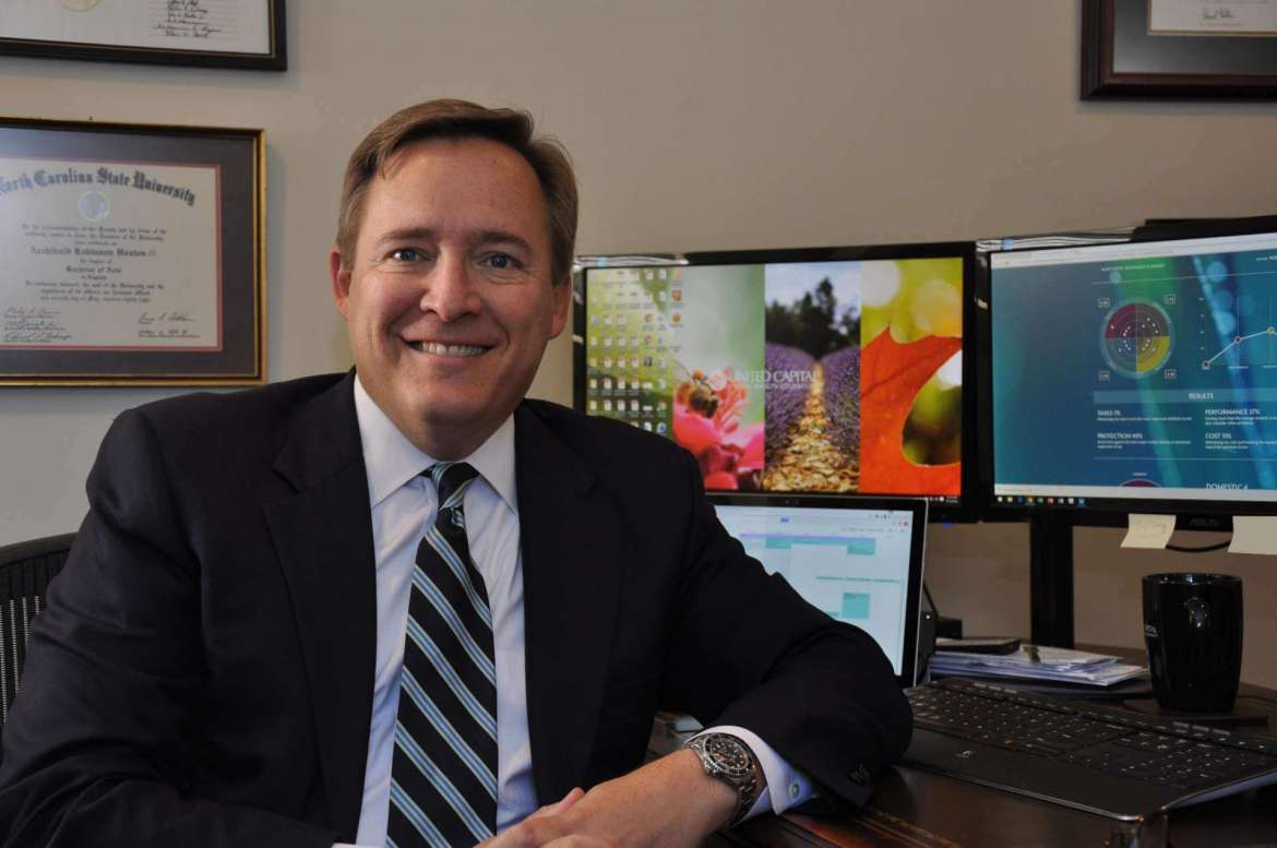 Rob Hoxton, managing director of United Capital Financial Life Management
