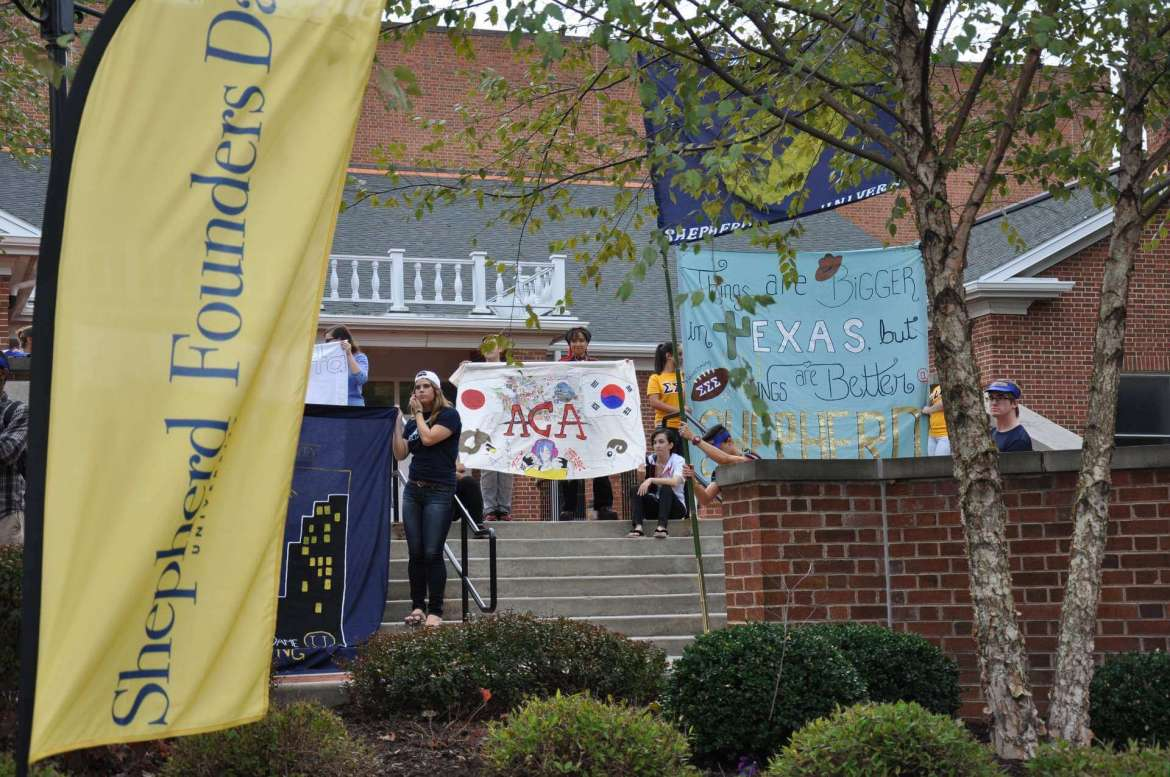 Shepherd University's Founder's Day will take place Thursday, October 20, at 3:30 p.m. beginning at McMurran Hall. Various student organizations will participate in the event.