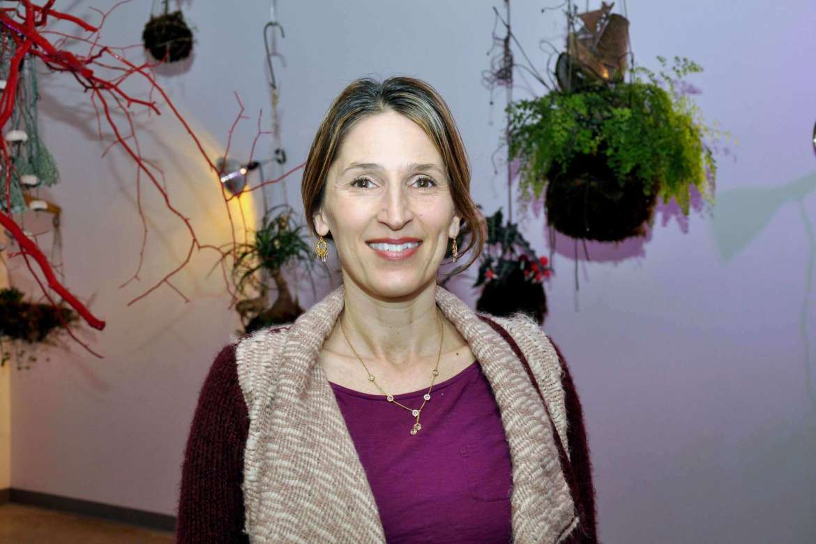 Sonya Evanisko, professor of art and coordinator of the painting and drawing program.