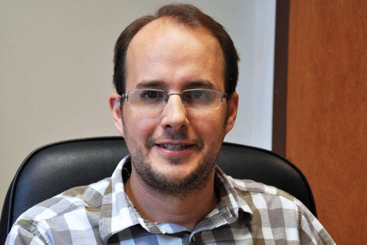 Craig Cline, assistant professor of social work and director of the social work program