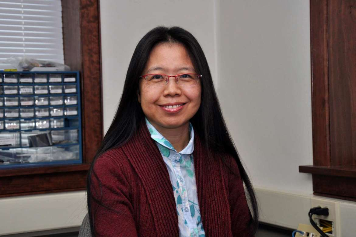 Dr. Qing Lei, a computer science professor at the University of International Business and Economics (UIBE) in Beijing, China.
