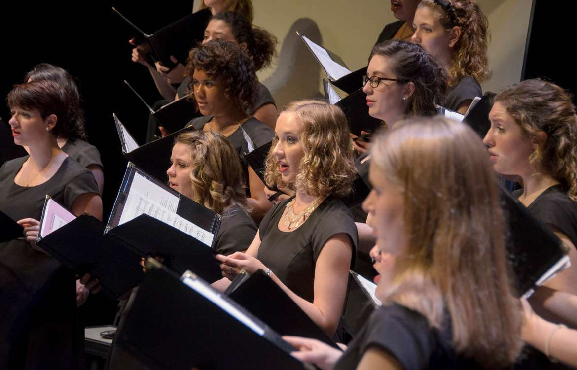 Shepherd University choral group