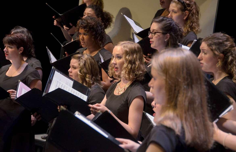Shepherd University choral group
