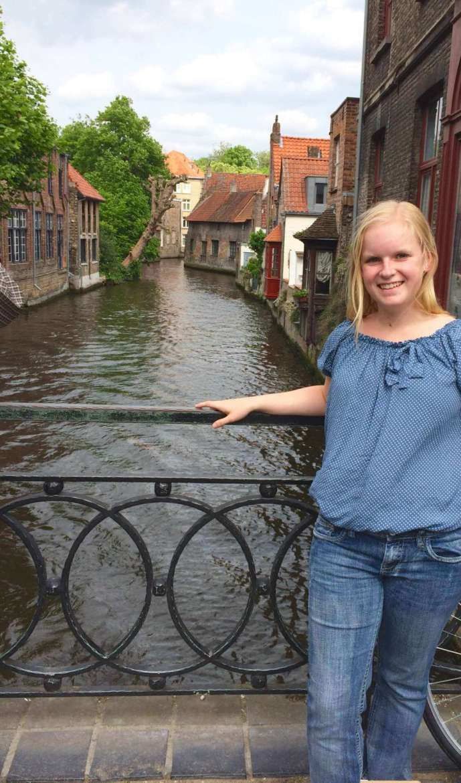 Alyson Hehr, a 2017 graduate of Shepherd University from Wheeling.