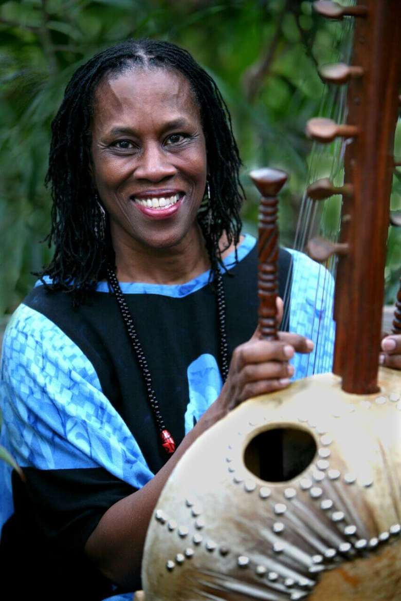 Award-winning Storyteller Charlotte Blake Alston.