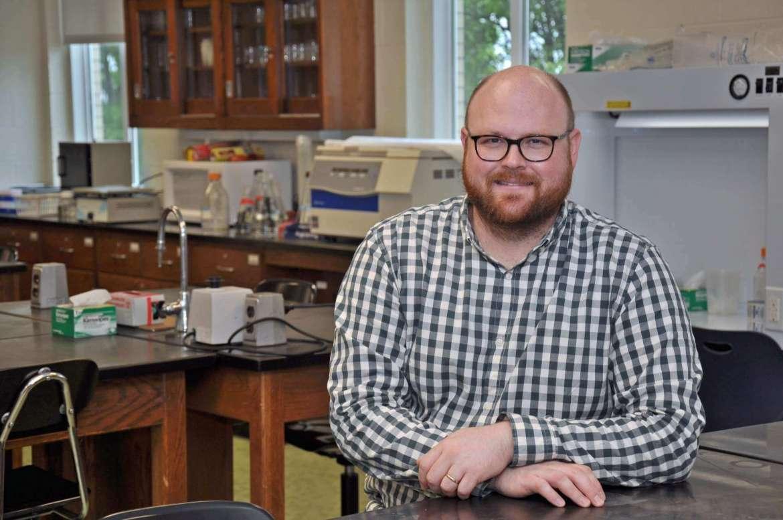 Dr. Jonathan Gilkerson, assistant professor of biology.