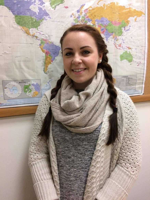 Jenna Sterner, a Shepherd University 2017 graduate from Catonsville, Maryland.