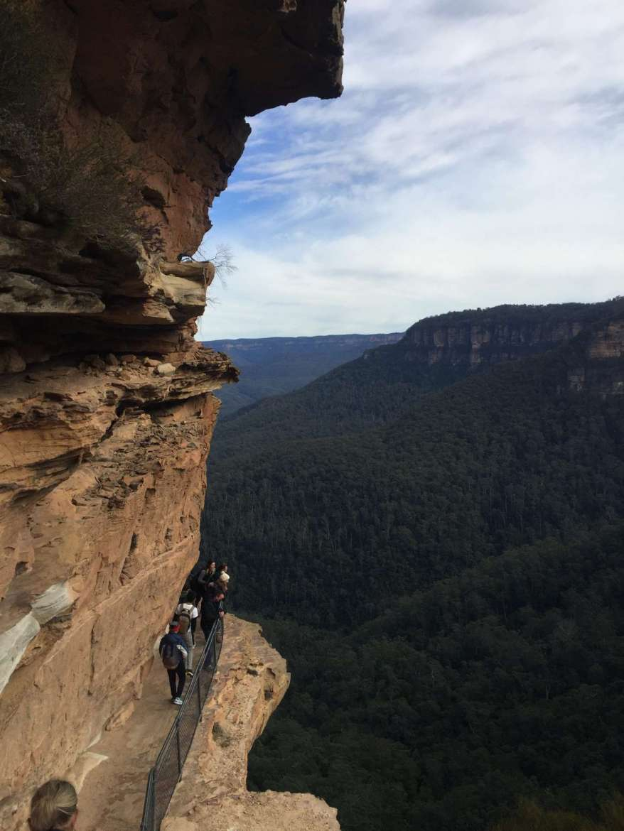 Seeing the Familiar in the Unfamiliar: Blue Mountains region of Australia, photo by Jenna Sterner.