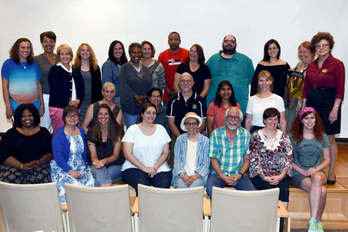 Each teacher attending Shepherd University's National Endowment for the Arts Appalachian summer institute gave a presentation on a project they worked on during the three-week institute.