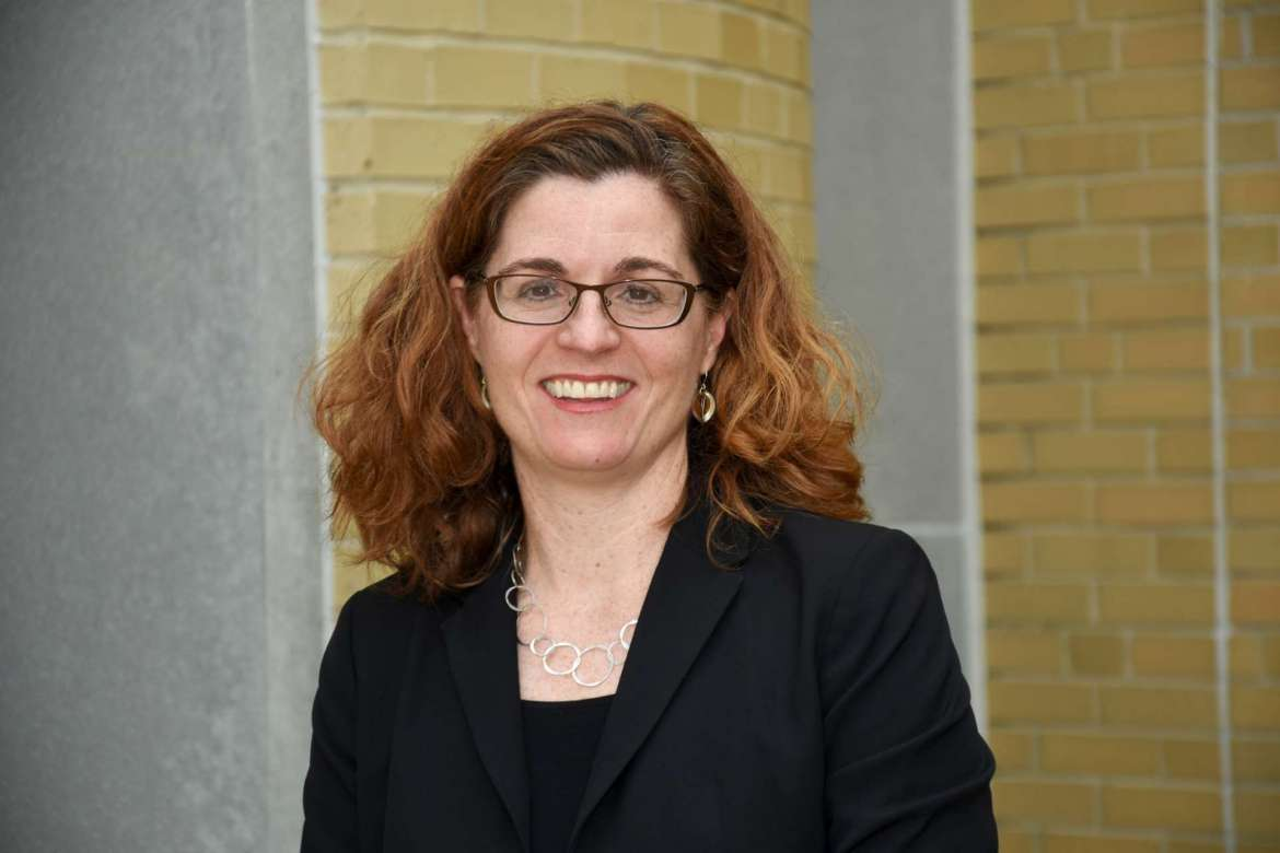 Dr. Clarissa Mathews, chair of the Institute of Environmental and Physical Sciences.