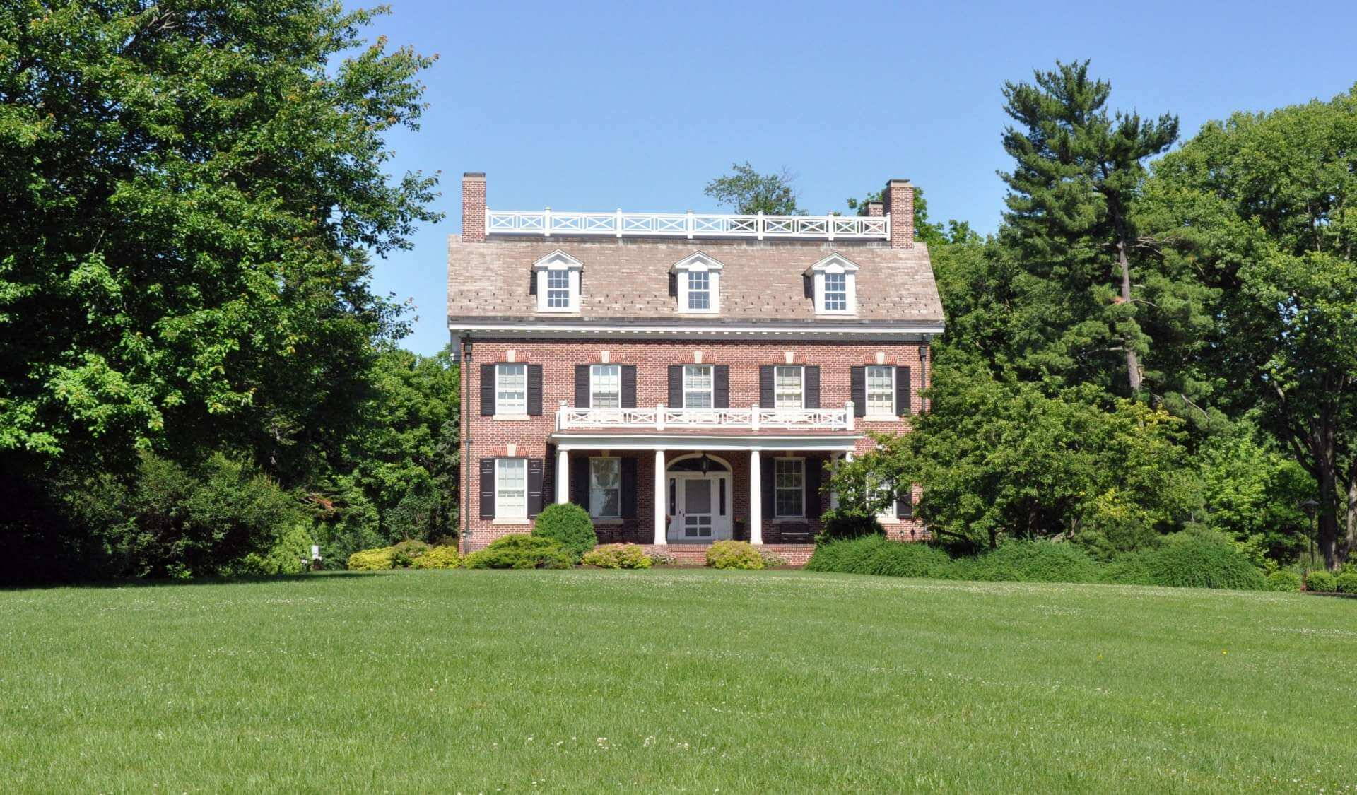 outside view of presidents house
