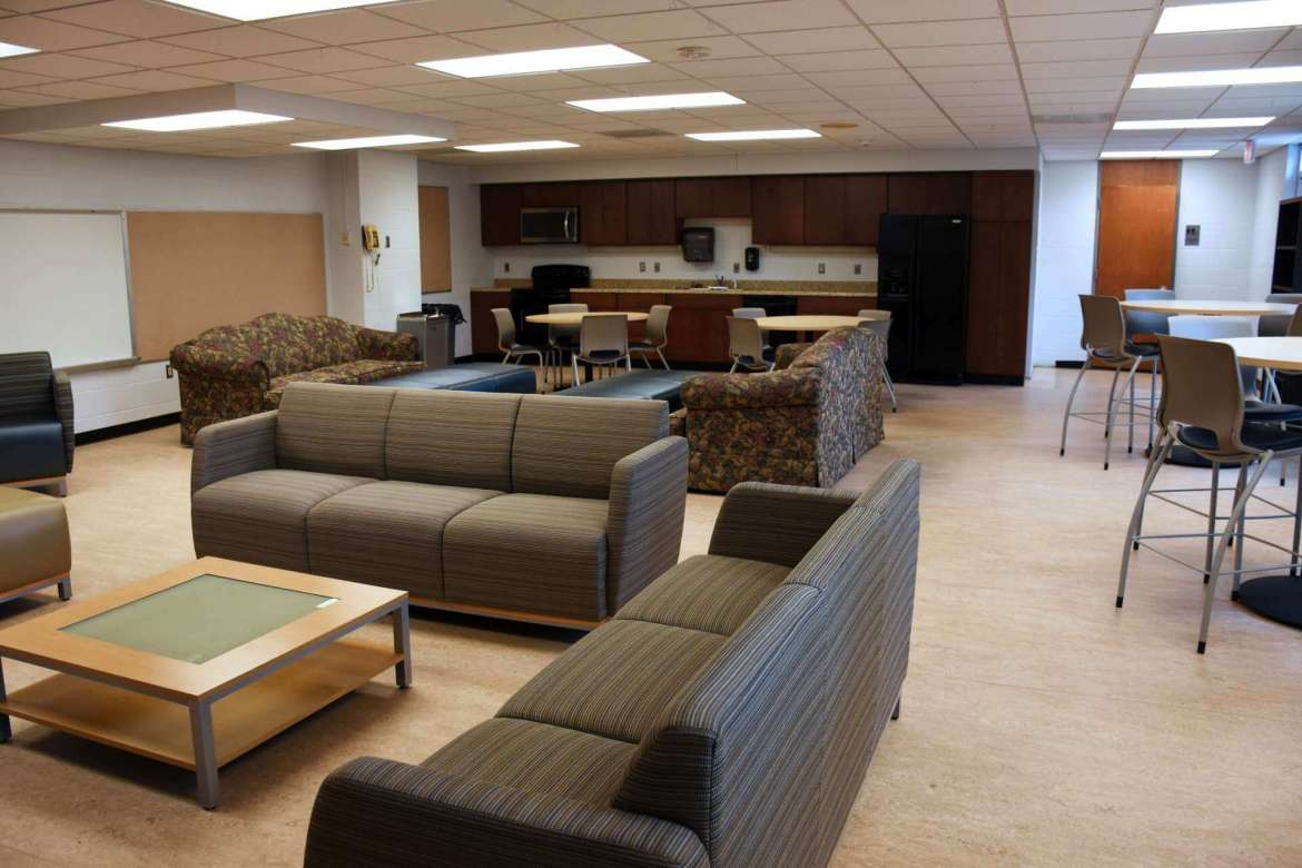 The new commuter lounge.