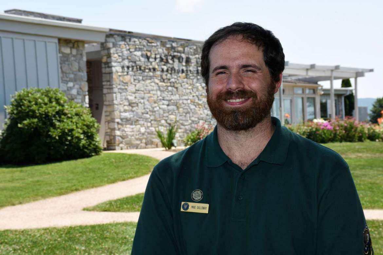 Mike Galloway, a recent Shepherd graduate from Germantown, Maryland, spent the summer interning at Antietam National Battlefield.