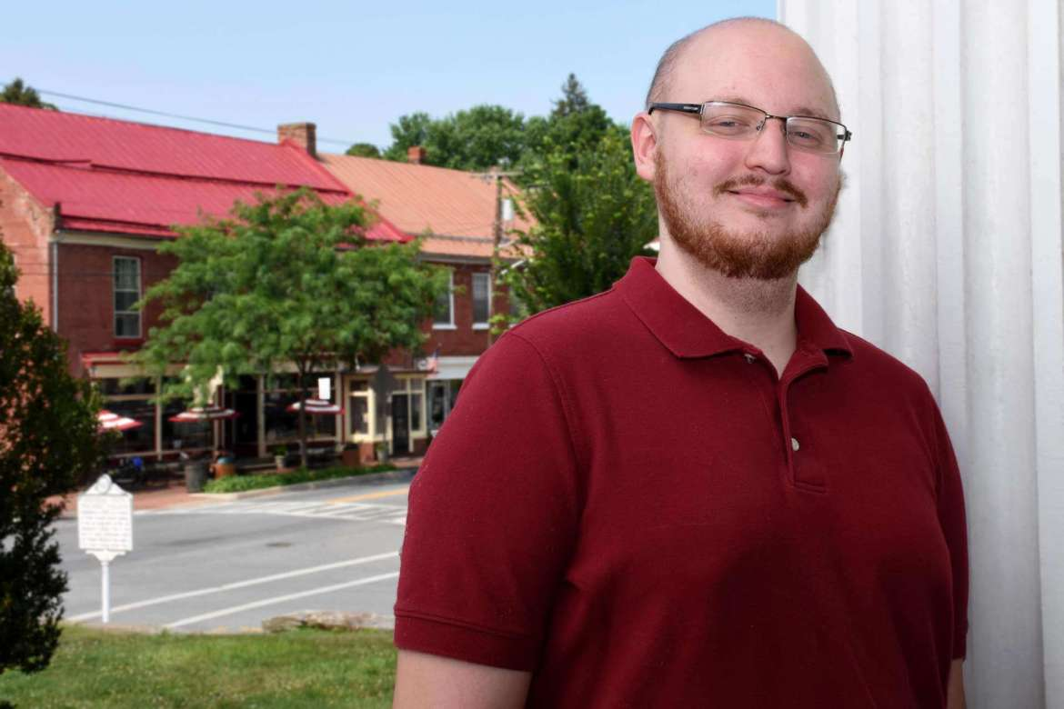 Christopher A. Korcsmaros, recipient of the 2017-18 McMurran Scholars Association Scholarship, is currently pursuing a master's degree in Shepherd's  College Student Development Administration (CSDA) program.