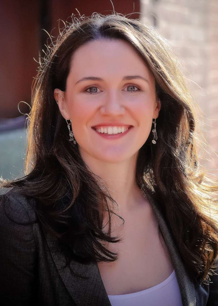 """Liz Murray, author of this year's common reading book, """"Breaking Night: A Memoir of Forgiveness, Survival, and My Journey from Homeless to Harvard."""""""