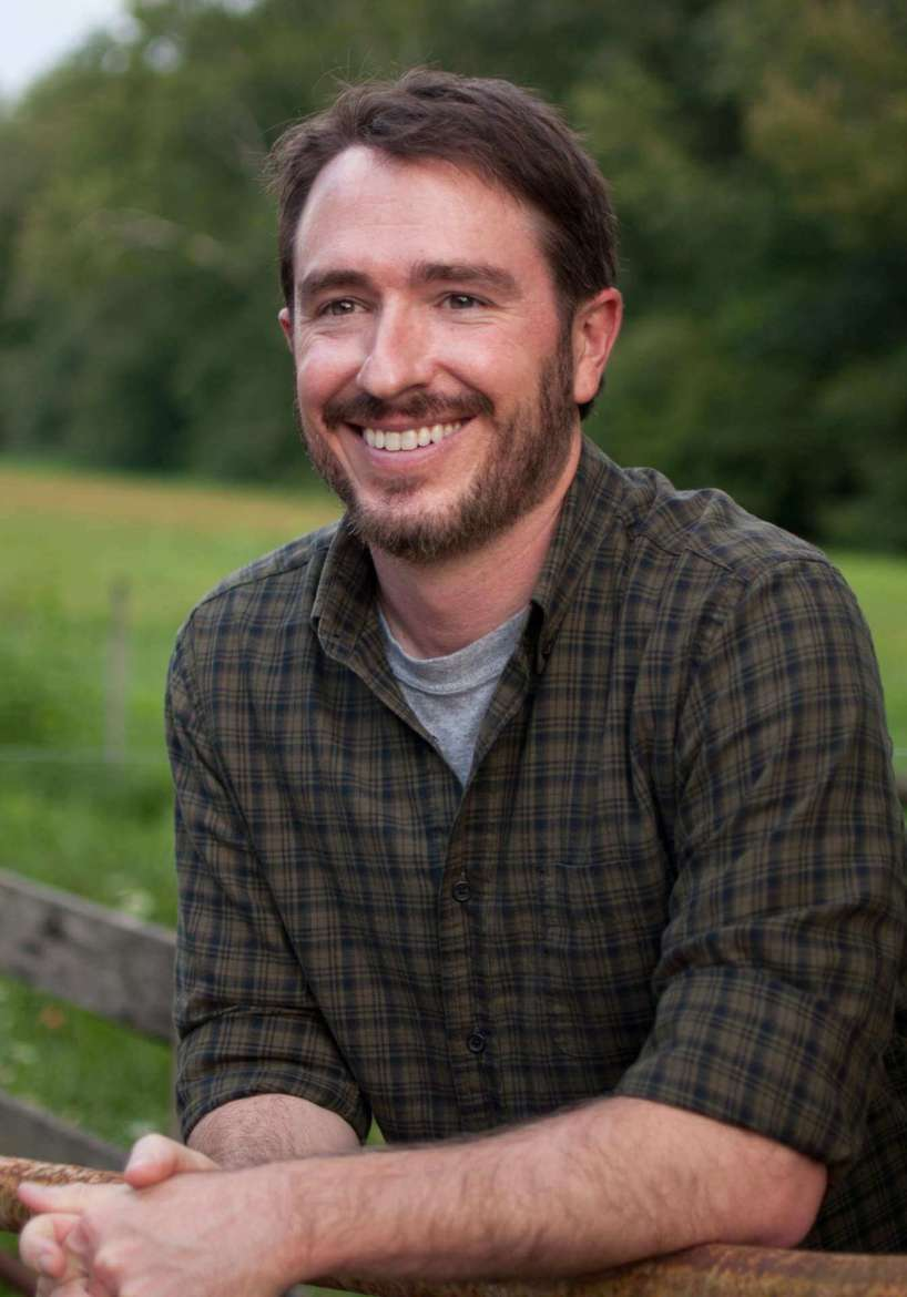 Wiley Cash, 2017 writer-in-residence and recipient of Appalachian Heritage Writer's Award. (Photo by Tiffany B. Davis)
