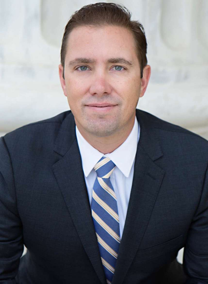 Shon Hopwood, appelate lawyer and Georgetown University Law Center professor.