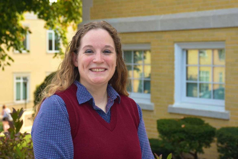 Dr. Jordan Mader, assistant professor of chemistry.