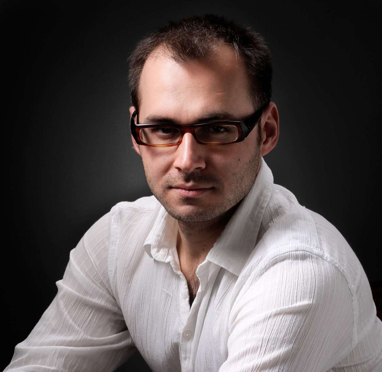 Rok Palčič, Slovenian-born concert pianist. (Photo courtesy: University of Florida)