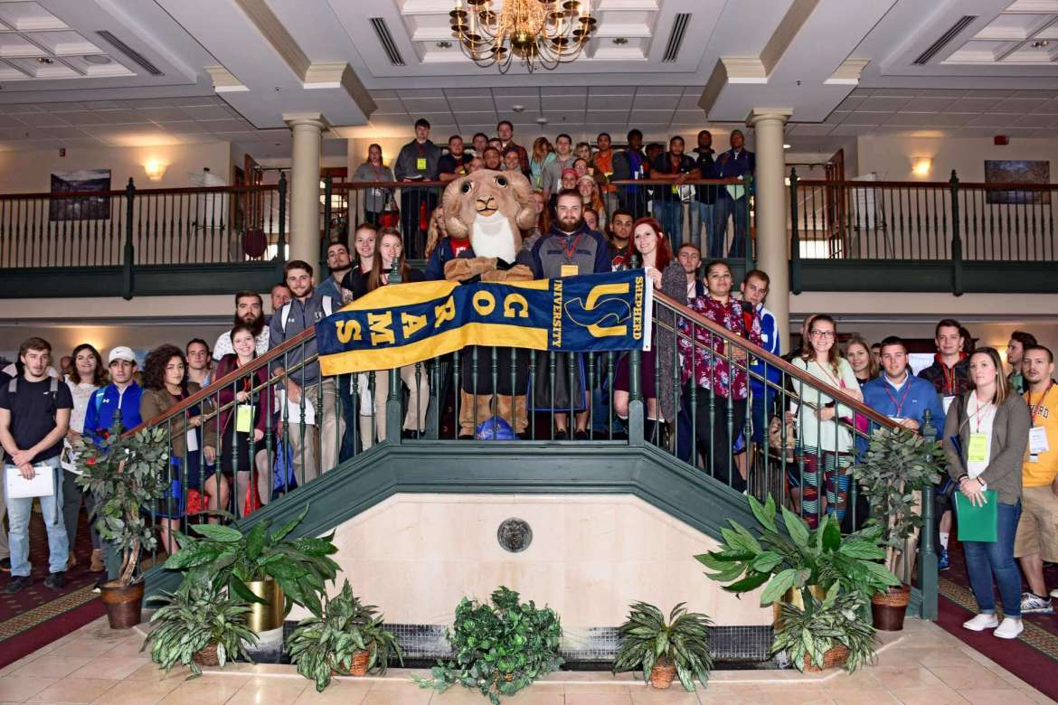 Shepherd University was well represented by a large group of student participants at the 96th Annual West Virginia Association for Health, Physical Education, Recreation, and Dance state conference in Shepherdstown.