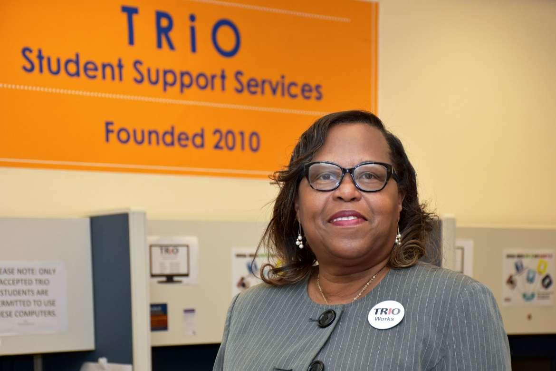 Cynthia Copney, director of TRiO Programs at Shepherd University.