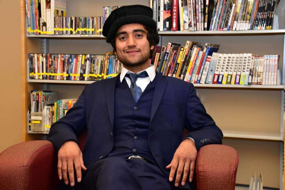 Adnan Haider, an exchange student from Pakistan, spent the fall semester at Shepherd.