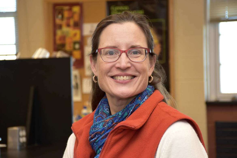 Dr. Carol Plautz, professor of biology.