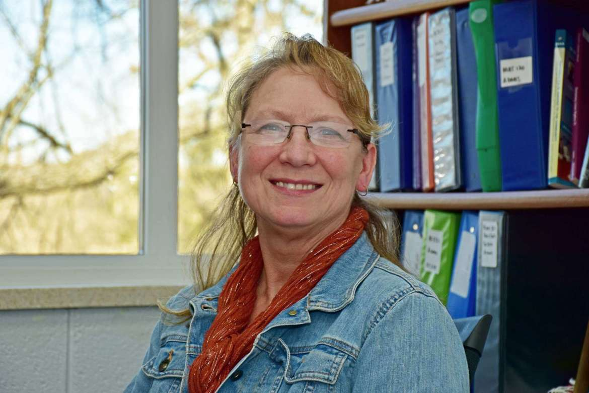 Dr. Karen Adams, assistant professor of mathematics.