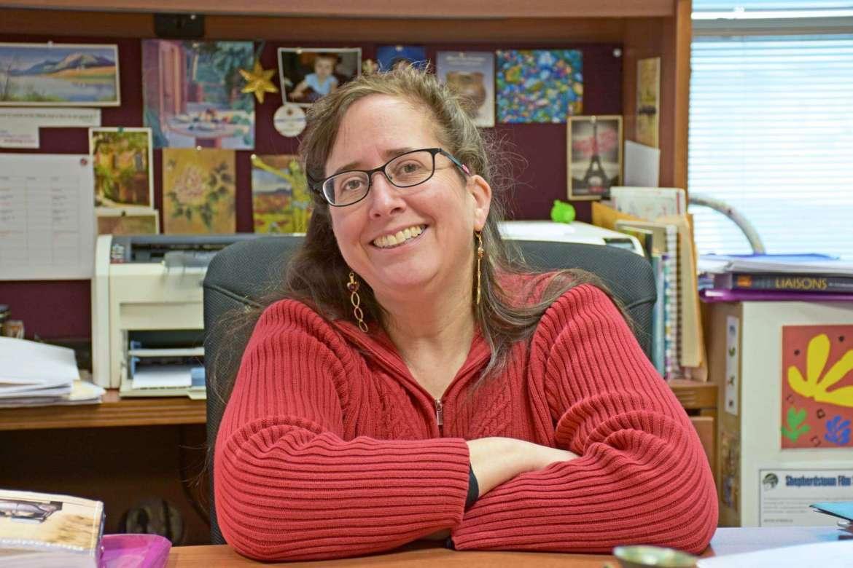 Dr. Rachel Krantz, associate professor of French.
