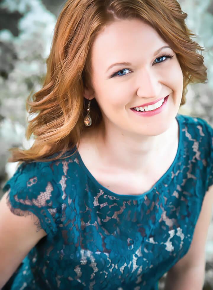 Jaely Chamberlain, soprano and Shepherd music alumna.