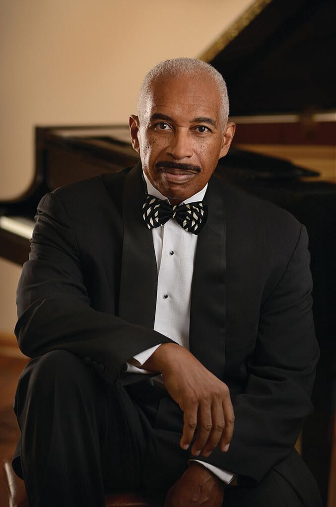 Leon Bates, pianist.