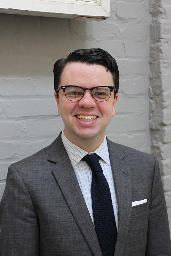 Nicholas Redding, alumnus and executive director of Preservation Maryland.
