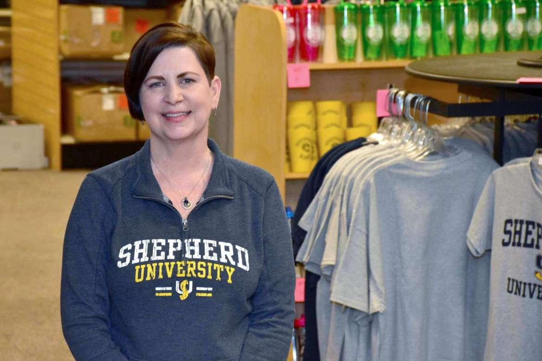 Tina Miller, store manager.