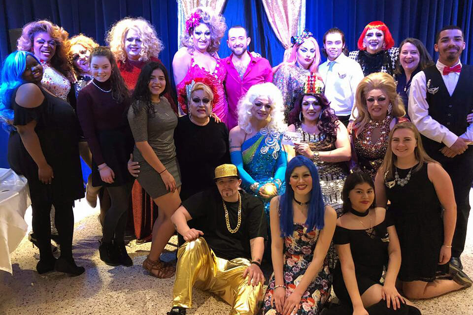 Students from Shepherd's Program Board and ALLIES organization held the 15th annual Drag Show Charity Fundraiser event on March 23, raising more than $3,800 for Hagerstown Hopes.