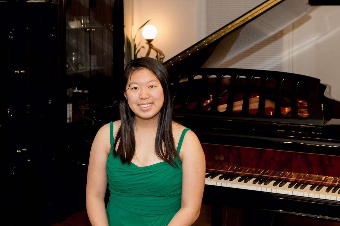 """Jessica Wu, a two-time winner of the Siegel-Hoffman Piano Concerto competition, will perform Mendelssohn's """"Piano Concerto No. 2, Op. 40. Mvt. II, Adagio"""" during the April 25 Shepherd University Community Music concert."""