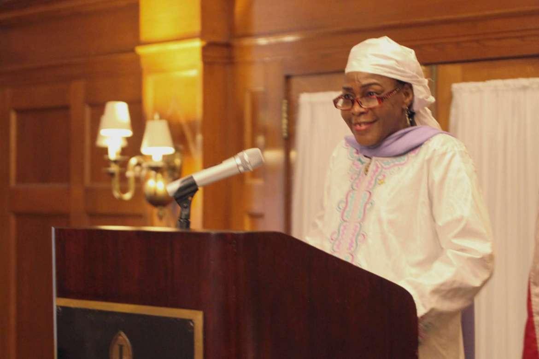 Hassana Alidou, Niger ambassador.