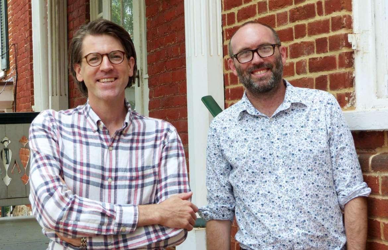 Dr. James Broomall (l.), and Dr. Benjamin Bankhurst