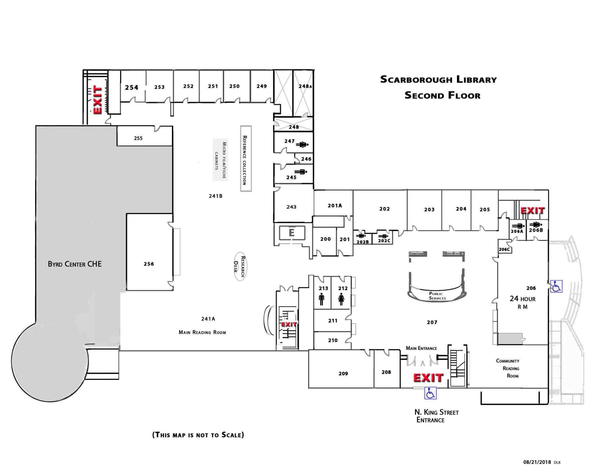 Shepherd University Directions And Floor Plans