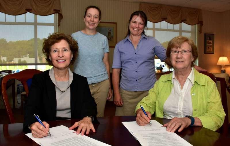Shepherd University Chimney Swift Tower Agreement Signed Between