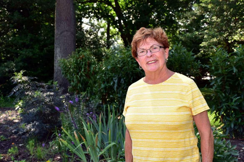Friends of Popodicon member Elisabeth Staro heads up efforts to restore the historic garden.