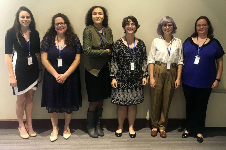 Pictured (l. to r.) are Lilli Sutton, Claudia McCarron, Alexandra Rowe, Claire Tryon, Elisha Pidcock, and Jessica Perez.