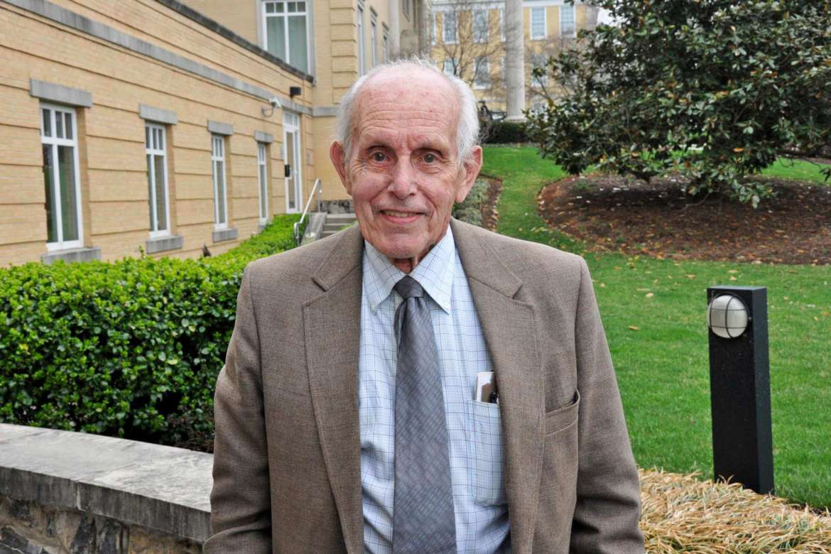 Dr. Carl F. Bell, who retired in 2015 and died in 2017, spent 54 years teaching plant biology to undergraduates at Shepherd.