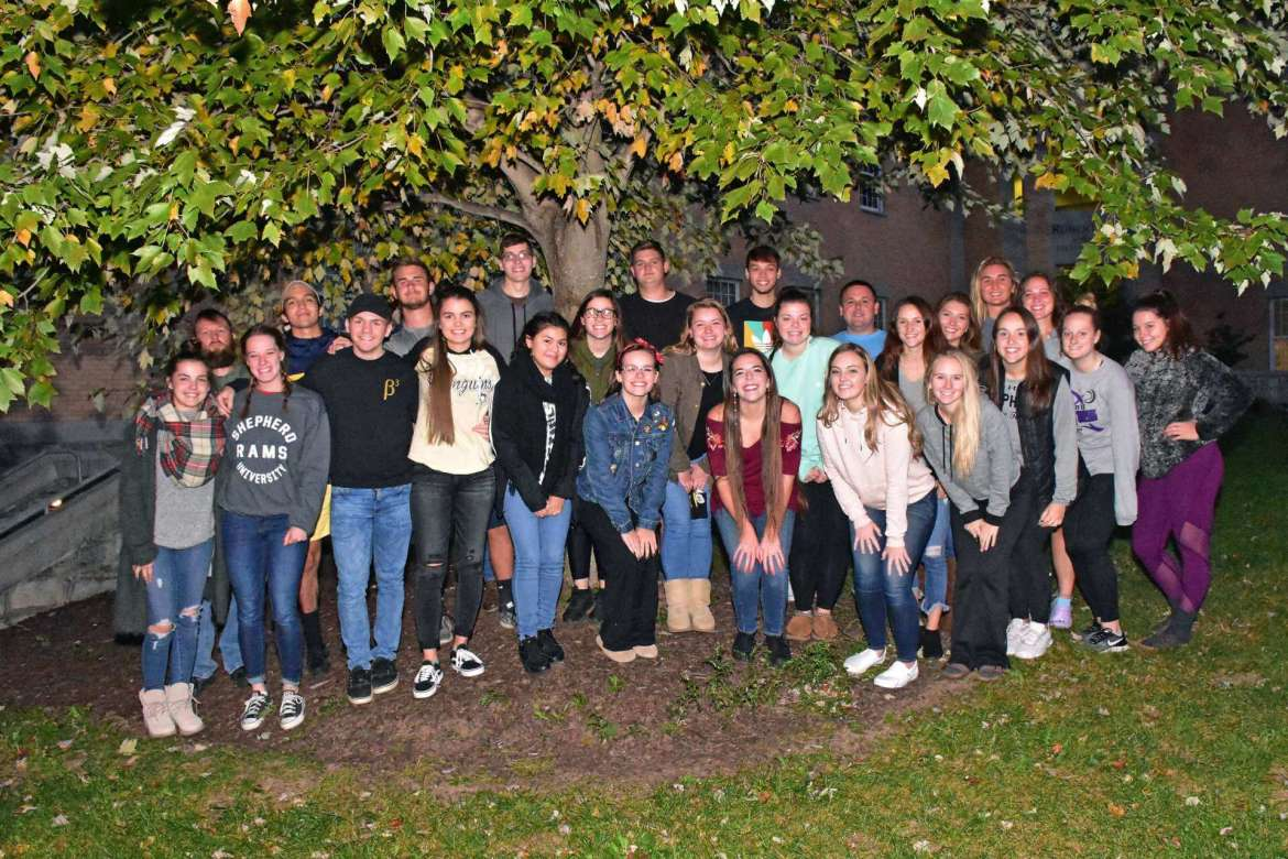 Members of Shepherd University's Beta Beta Beta biology honor society will lead the effort to plant the first trees in the newly established Carl F. Bell Arboretum on Shepherd's campus on Saturday, November 3, beginning at 9:30 a.m.