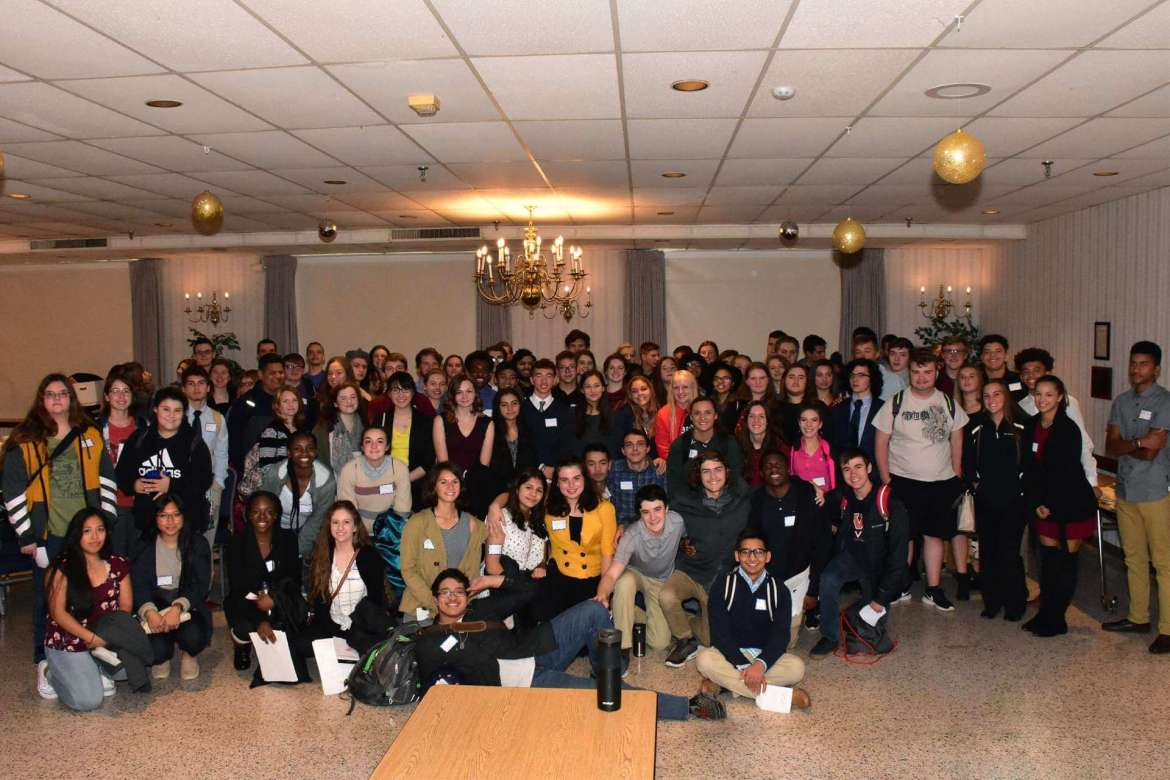 Shepherd hosted 110 students from six high schools on October 18 during the annual World Affairs Seminar.